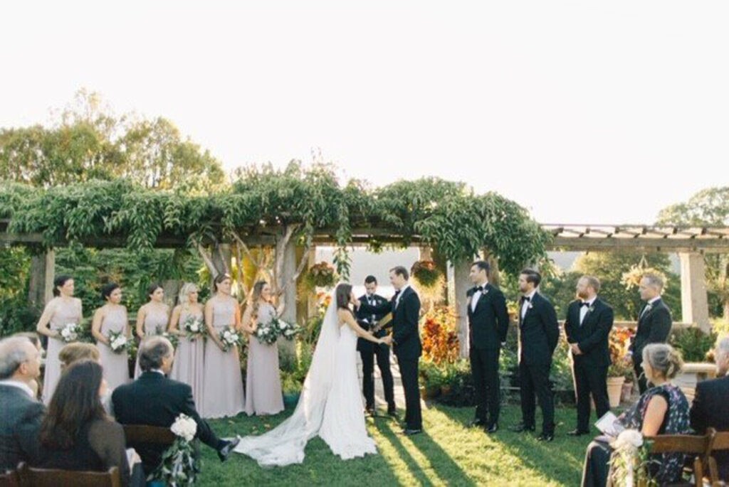 Wedding at Wave Hill
