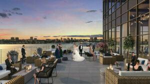 hells kitchen new york rooftop wedding venue