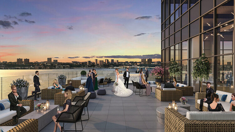 hells kitchen new york rooftop wedding venue