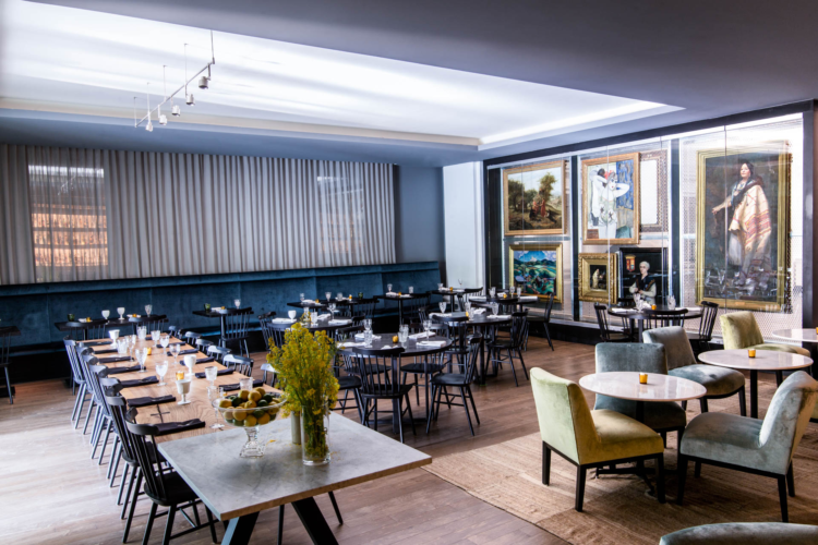 host corporte meetings and catered events at the Norm in Brooklyn