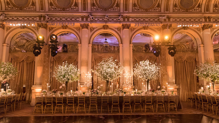 Great Performances is the official caterer for The Plaza Hotel in Manhattan and can help you plan your catered event there.