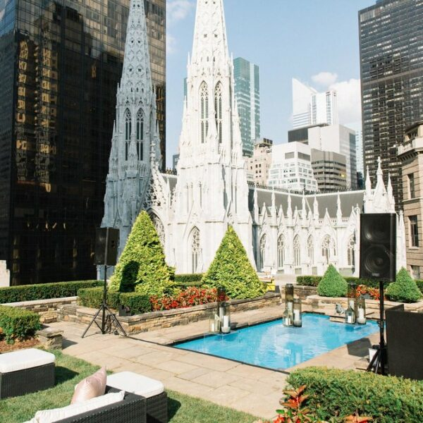 Corporate Holiday Party Event Rental on Fifth Avenue near St. Patrick's Cathedral