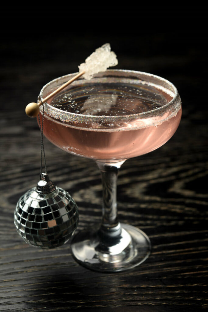 Bianca Jagger Inspired Cocktail