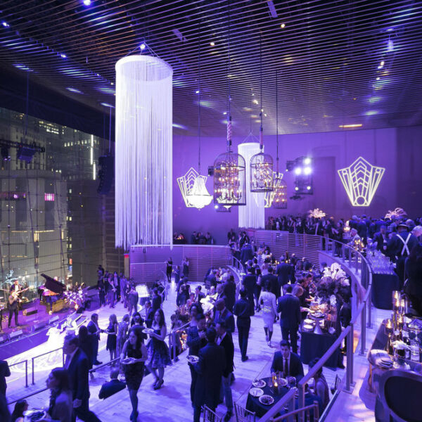 Jazz at Lincoln Center is one of the best holiday party venue rentals in NY