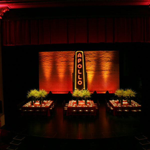 Harlem theater rental for private holiday party