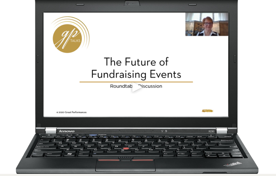 THE FUTURE OF FUNDRAISING EVENTS