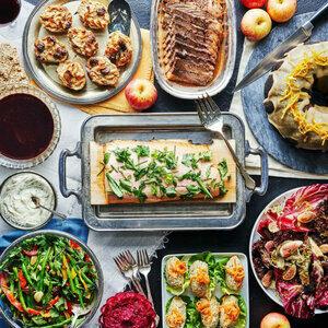 Rosh Hashanah Holiday Menu