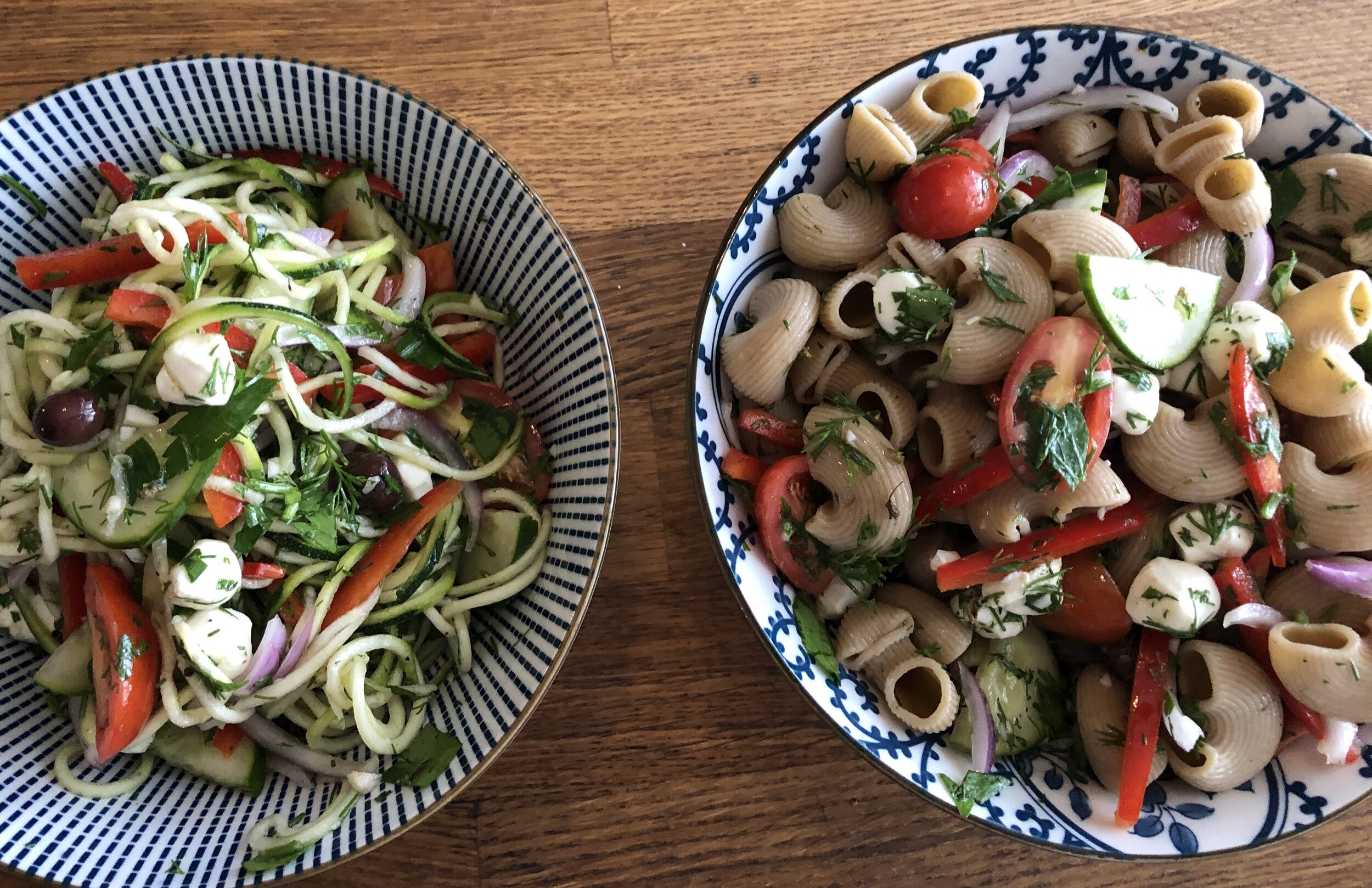 Noodle Passport Great Performances' Catering's virtual classes ingredient pasta