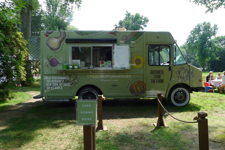 Caramoor Food + Drink is Managed by Great Performances Catering