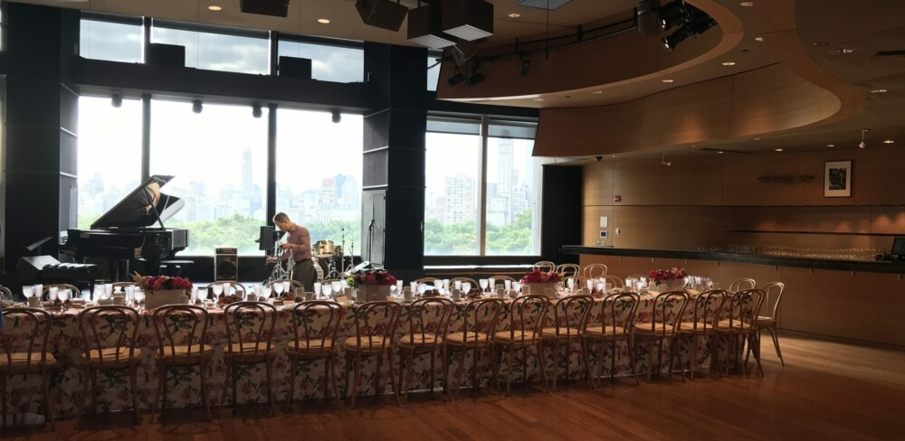 Dizzy's Jazz Club for daytime catered events in NYC