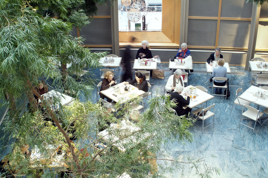 Catered events at Garden Court Café at Asia Society