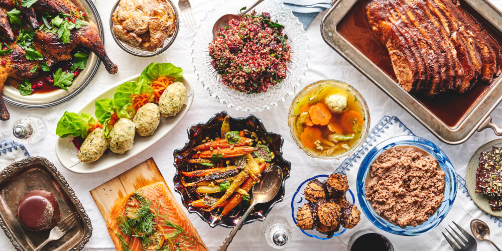 Passover holiday dinner meal kit delivered in New York